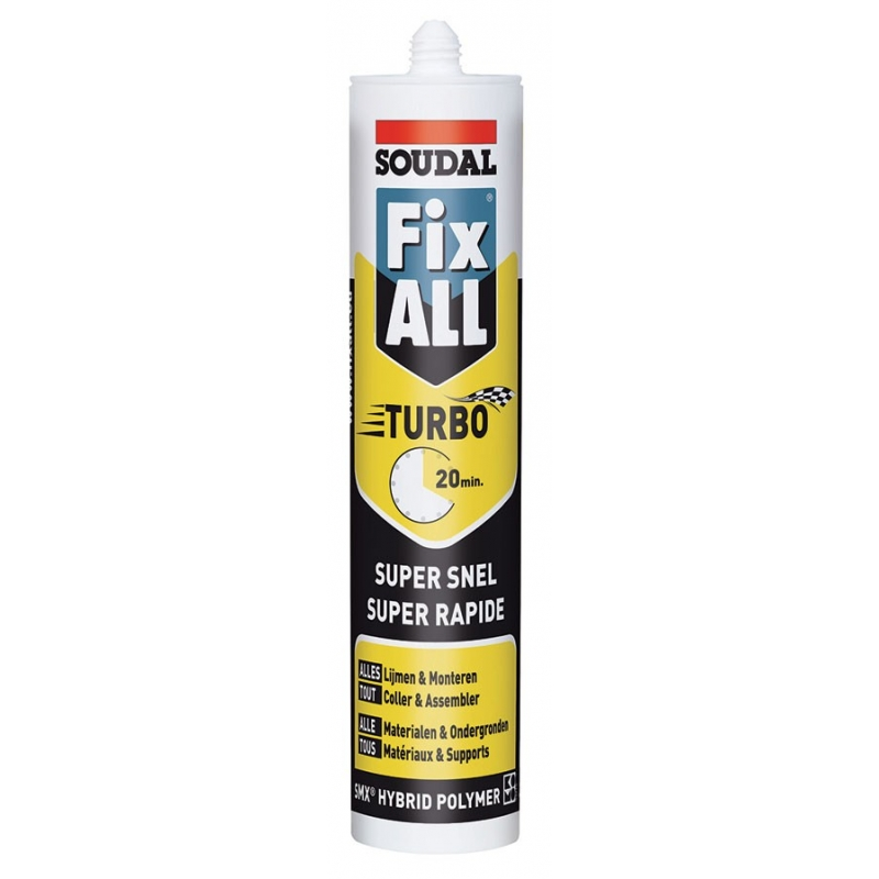Colle ms polym re fix all soudal - Colle ms polymere ...