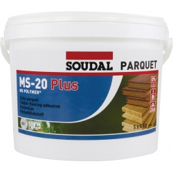 Colle parquet ms20 p plus SOUDAL