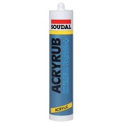 Mastic acrylique acryrub extérieur facade SOUDAL