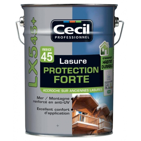 Lasure protection forte lx 545+ CECIL