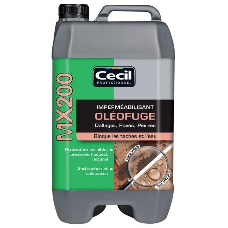 Imperméabilisant oleofuge mx 200 CECIL
