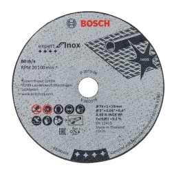 Disque acier / inox pour meuleuse GWS 10,8 V BOSCH