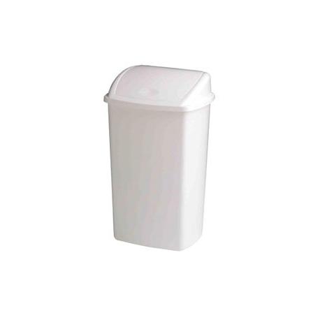 poubelle de 50 litres avec couvercle basculant. Black Bedroom Furniture Sets. Home Design Ideas
