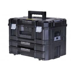 Kit mallette et mallette 2 tiroirs STANLEY