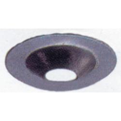 Rondelle métallique en acier zingue blanc