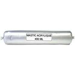 Mastic acrylique acryrub blanc