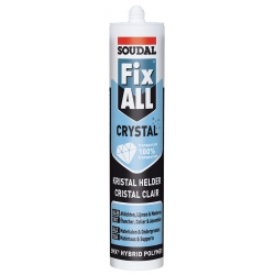 Mastic-colle fix all cristal SOUDAL