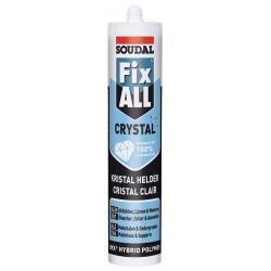 Mastic-colle fix all cristal SOUDAL
