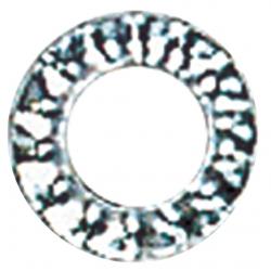 Rondelle éventail série AZ acier zingue blanc