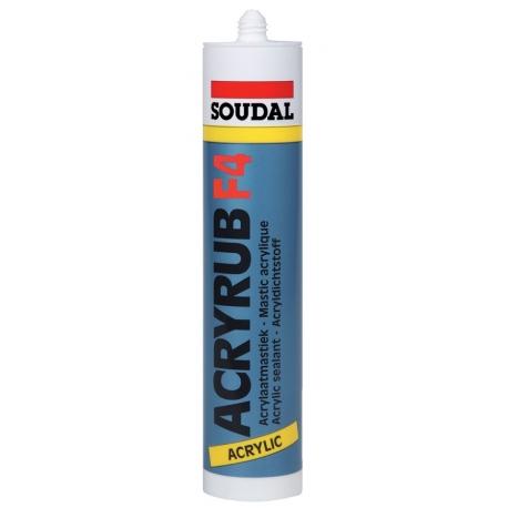 Mastic acrylique acryrub f4 SOUDAL