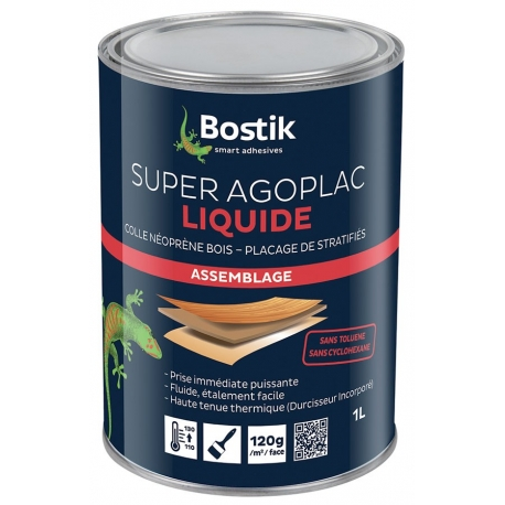Colle super agoplac liquide BOSTIK