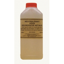 Neutralisant pour brunisseur métaux ferreux