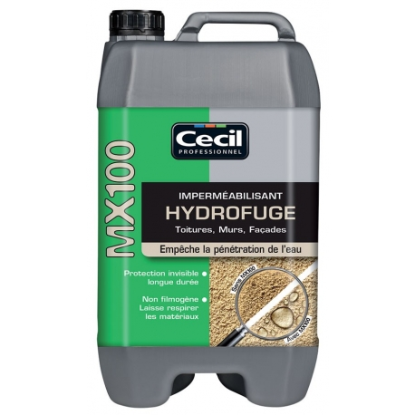Imperméabilisant - hydrofuge mx 100 CECIL