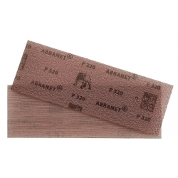 Feuille abrasive rectangle 80x230 mm Abranet pour cale MIRKA