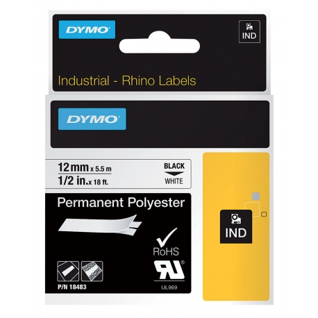 Ruban pour RHINO 4200 polyester permanent DYMO