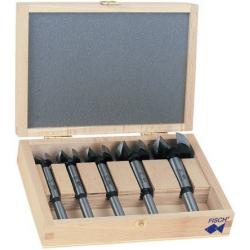 Coffret 5 mèches à façonner bois FISCH 03170005K