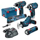 Lot 5 outils sans fil 12V BOSCH 0615990K11