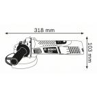 Meuleuse 125 mm GWS 7-125 BOSCH 0601388102