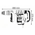 Marteau piqueur GSH 5 CE SDS MAX BOSCH 0611321000