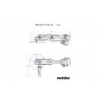 Meuleuse 230 MM 2 X 18 V WPB36-18LTX BL230 METABO