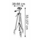 Trépied télescopique BT 150 BOSCH 0601096B00
