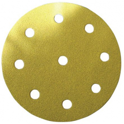 Disque papier diamètre 125 8 trous + 1 trou central SIA