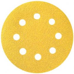 Disque papier diamètre 125, 8 trous SIA