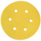 Disque papier diamètre 150, 6 trous SIA