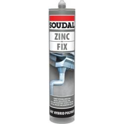 Mastic colle MS polymère Zinc Fix SOUDAL 134631