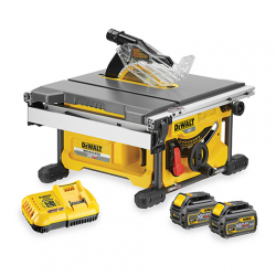 Scie à table DCS7485T2 XR FLEXVOLT 54V 6Ah DEWALT