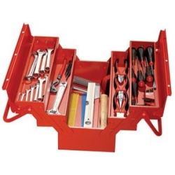 """Caisse à outils """"les essentiels"""" 50 pièces MOB 9501050101"""