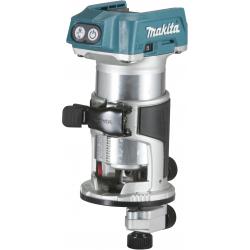 Affleureuse 18 V  8 mm (Produit seul + kit d'accessoires) DRT50ZJX3 MAKITA