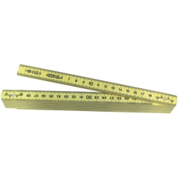 Mètre pliant ABS plastique WILMART