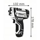 Perceuse-visseuse sans fil GSR 12V-15 FC BOSCH 06019F6005