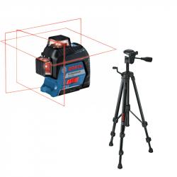 Laser plan 3 axes GLL 3-80 + trépied BT 150 BOSCH 06159940KD