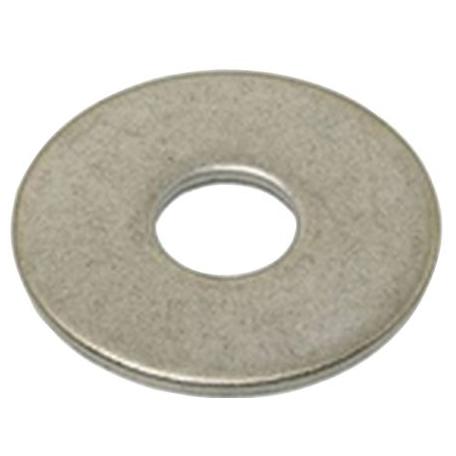 Rondelle série LL acier zingue blanc