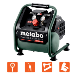 Compresseur sans fil Power 160-5 18 V LTX BL OF solo METABO 601521850