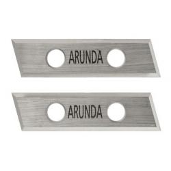 Couteaux ARUNDA Standard-26 réversibles en métal dur HM MAFELL 091431