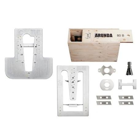 Set de gabarit complet Maximax ARUNDA série B - butée 90° MAFELL