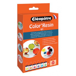 Boîte Color'Résin CLEOPATRE COL15X6
