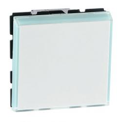 Poussoir inverseur Mosaic pour porte étiquette 2 modules LEGRAND 077043L