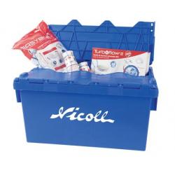 Lot vidage sanitaire + bac de rangement offert NICOLL