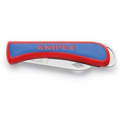 Couteau pliant d'électricien KNIPEX 16 20 50 SB