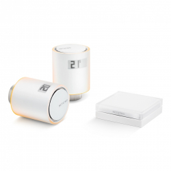 Starter Pack - Têtes Thermostatiques Intelligentes NETATMO NT-VALVE-KIT