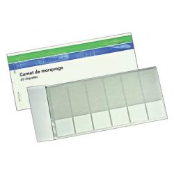 Carnet d'étiquettes WAGO