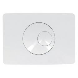 Plaque de commande boutons ronds double volume NICOLL 0709176