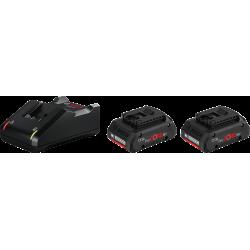 Pack 2 batteries ProCORE18V 4.0Ah + GAL 18V-40 BOSCH 1600A01BA3