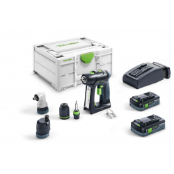 Perceuse visseuse sans fil C 18 Li 5,2-Set FESTOOL 575672