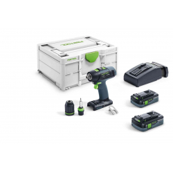Perceuse visseuse T18+3 Li 5,2 PLUS FESTOOL