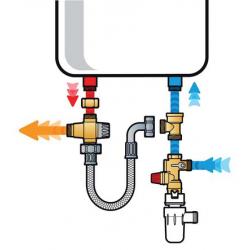 Kit de mise en sécurité chauffe-eau THERMADOR - CALEFFI KMIXVE